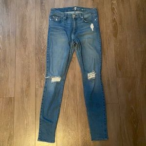 7 for all man kind the skinny jean